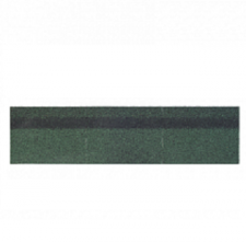 Черепица коньково-карнизная Shinglas зеленый