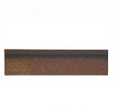 Черепица коньково-карнизная Shinglas Джайв коричневый