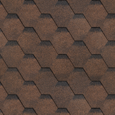 Shinglas Финская Черепица Соната коричневый