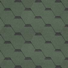 Битумная черепица Shinglas Кадриль Соната зеленый