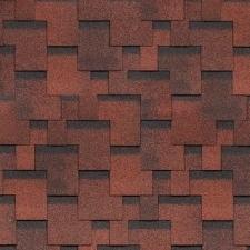 Shinglas Финская Черепица Аккорд красный